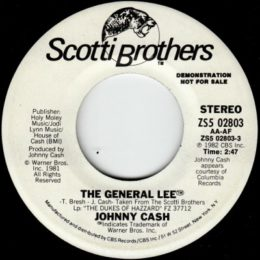 The General Lee( Scotti Brothers ZS502803) Stereo