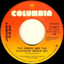 The Junkie And The Juicehead (Minus Me) (Columbia 3-10011)