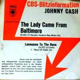 The Lady Came From Baltimore 2900 (promo sleeve)