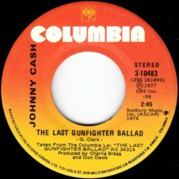 The Last Gunfighter Ballad (Columbia 3-10483) Can