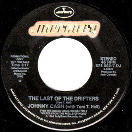 The Last Of The Drifters (Mercury 874 562-7) promo