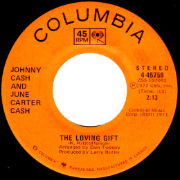 The Loving Gift (Columbia 4-45758)