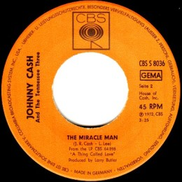 The Miracle Man (CBS S 8036)