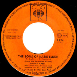 The Sons Of Katie Elder (CBS 1.974)
