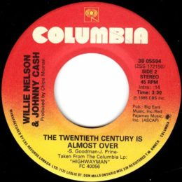 The Twentieth Century Is Almost Over (Columbia 38-05594) can