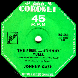The Rebel - Johnny Yuma (Coronet KS 449)