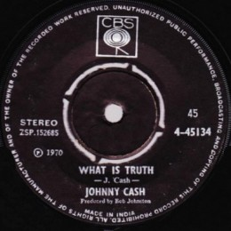 What Is Truth (Columbia 4-45134)