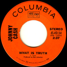 What Is Truth (Columbia 4S- 45134)
