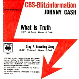 What Is Truth (promo sleeve)