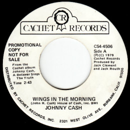 Wings In The Morning (Cachet CS4-4506) promo