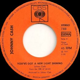You've Got A New Light Shining In Your Eyes (CBS 7300)