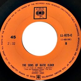 The Sons Of Katie Elder (CBS LL-825)