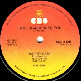 I Will Dance With You (CBS SSC 5185 ) South Africa