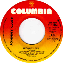 Without Love  (Columbia 11-11424)