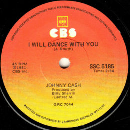 I Will Dance With You (CBS SSC 5185) SA