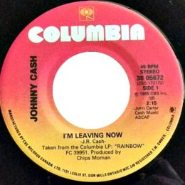 I'm Leaving Now (Columbia 38-05672)