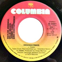 Highwayman (Columbia 38-04881)