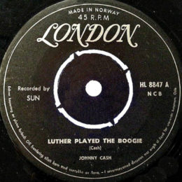 Luther Played The Boogie (London 8847) Norway
