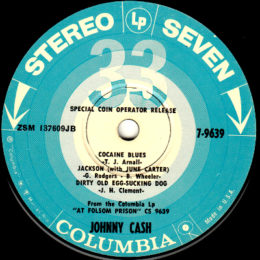 Columbia Stereo Seven 7-9639 side 1
