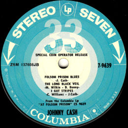 Columbia Stereo Seven 7-9639 side 2