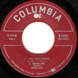 Columbia B 12531 The Fabulous Johnny Cash vol 1 side 2 can