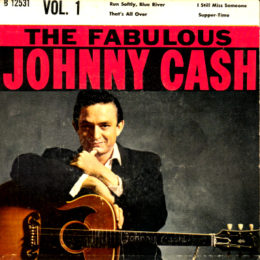Columbia B 125321 The Fabulous Johnny Cash front sleeve can