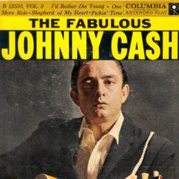Columbia B 12533 The Fabulous Johnny Cash front sleeve can