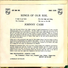 Philips BE 429 884 rear Songs Of Our Soil