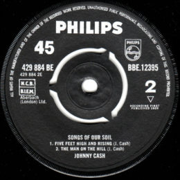 Philips BE 429 884 side 2 Songs Of Our Soil